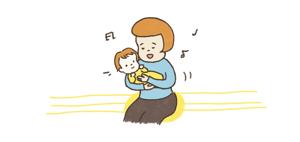 輕輕撫摸 寶寶 哼歌