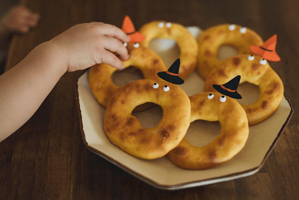 Halloween!一歲寶寶也能吃的萬聖節點心