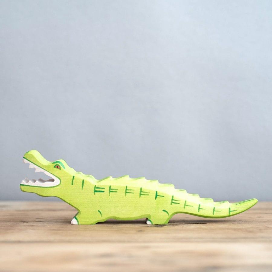 HOLZTIGER 德國木製動物積木 / 大鱷魚