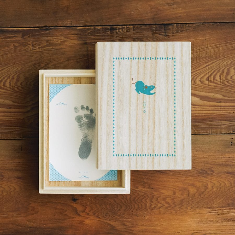 新生兒紀念收藏盒 / 2020 鼠年款