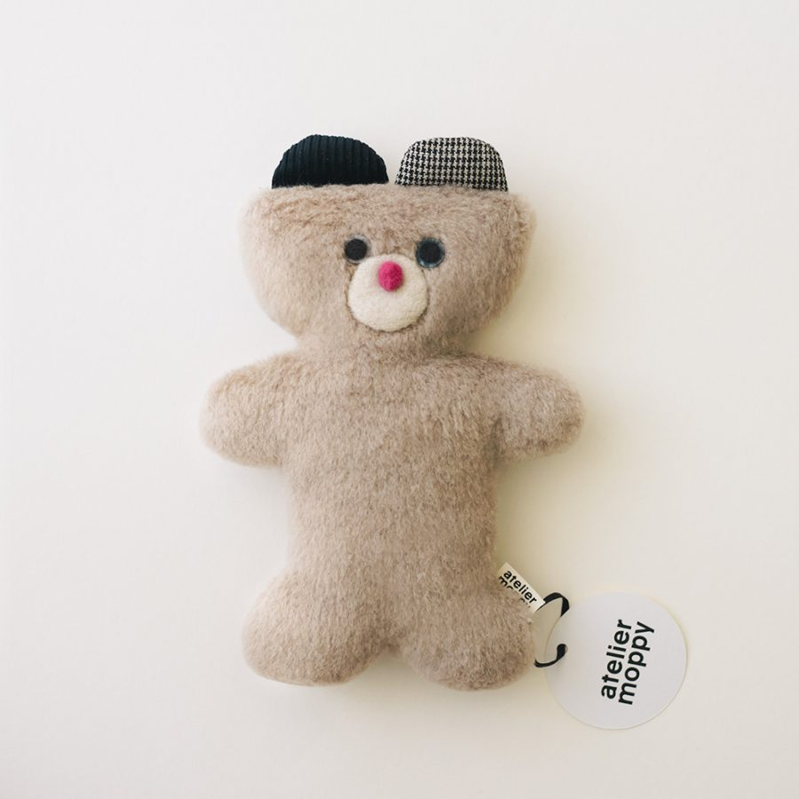 atelier moppy 熊絨布娃娃