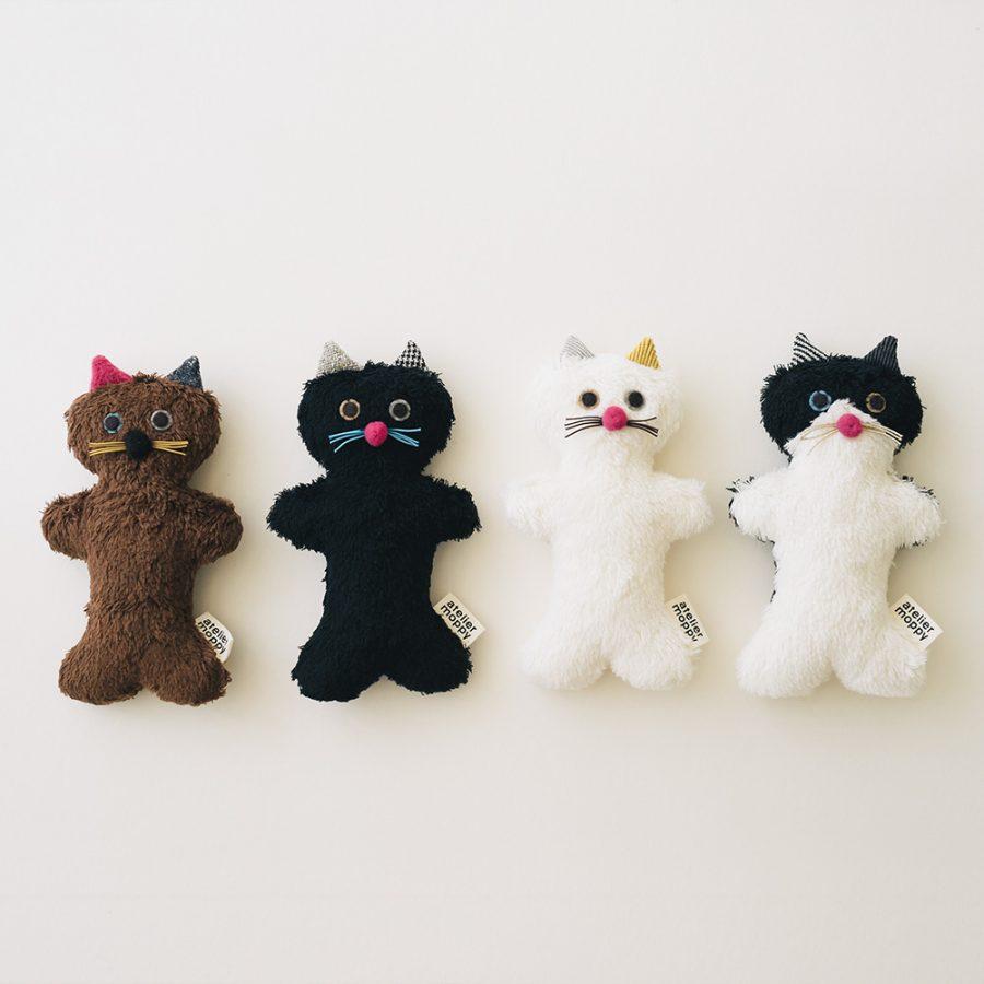 atelier moppy 貓絨布娃娃 / 小