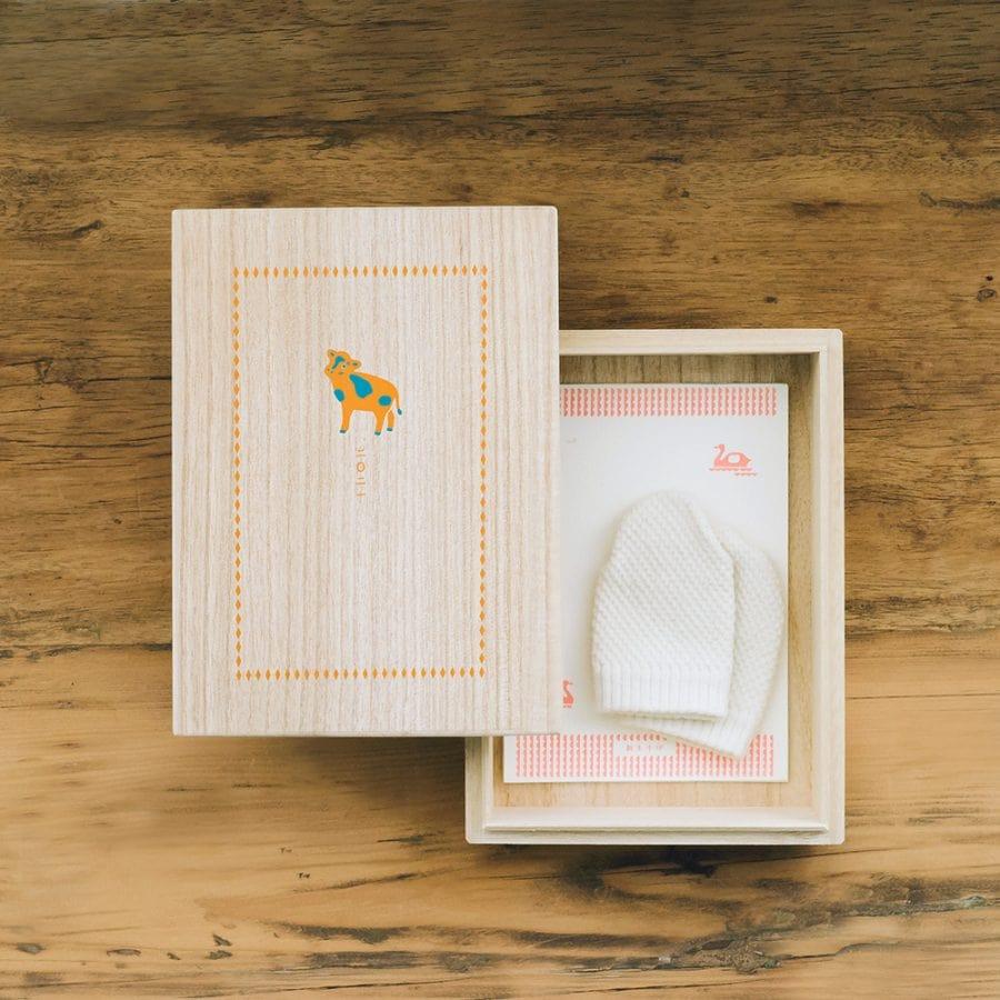 新生兒紀念收藏盒 / 2021 牛年款