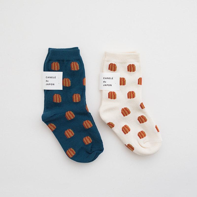 CANELÉ du JAPON 奈良製可麗露襪子 / 兒童用