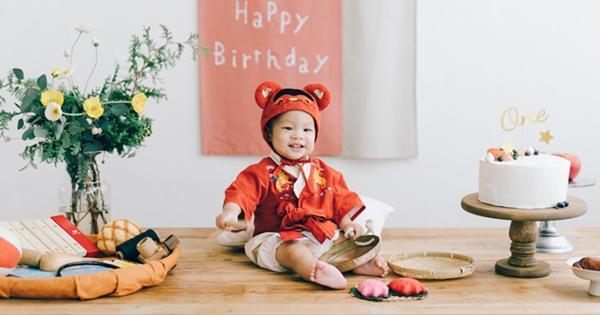 阿ㄅ 1 歲抓周生日紀錄