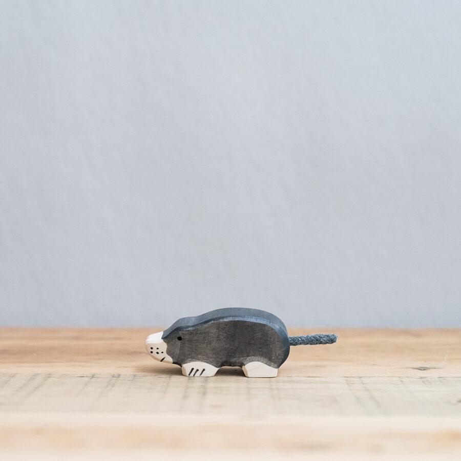 HOLZTIGER 德國木製動物積木 / 鼴鼠