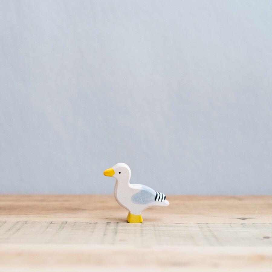 HOLZTIGER 德國木製動物積木 / 海鷗