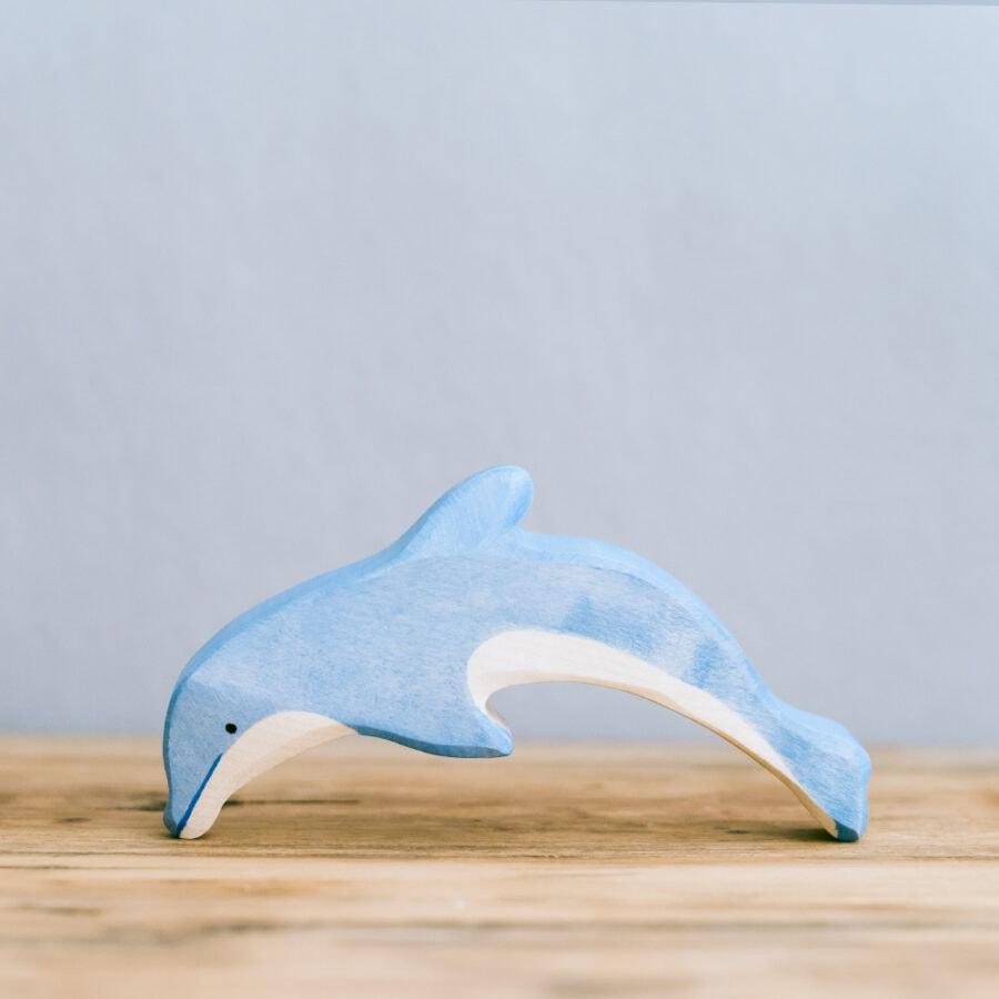 HOLZTIGER 德國木製動物積木 / 海豚